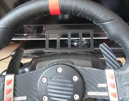 HSR Driving Force Phone Holder on a G27