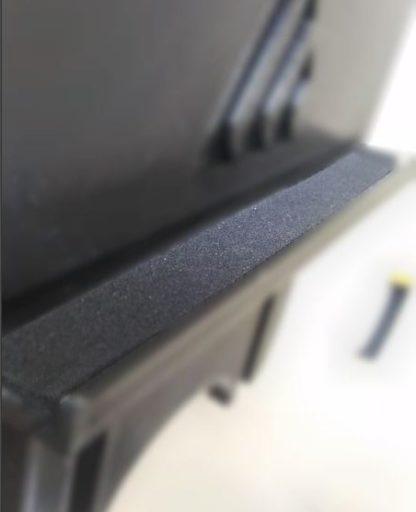 HSR foam installed
