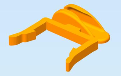 Micro USB Cable Holder Clip for Aluminium Profile