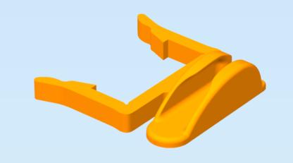 Micro USB Cable Holder Clip for Aluminium Profile2