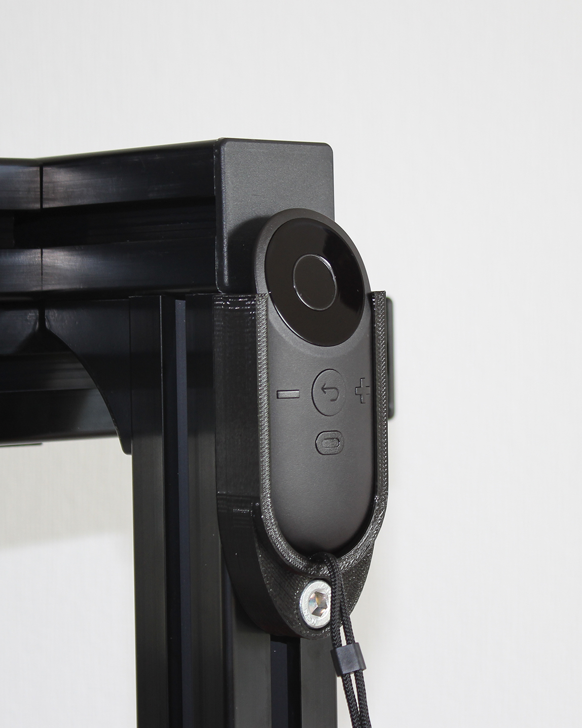 Oculus Remote Control Holder for Aluminium Profile
